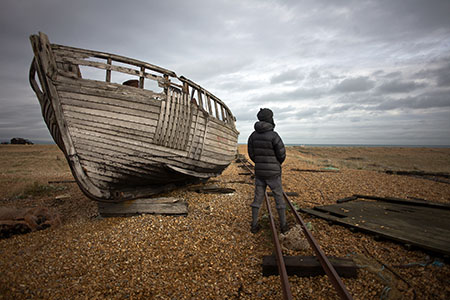 KH at Dungeness