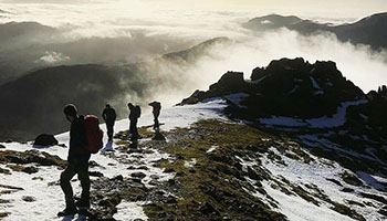 the cairngorms with wilderness weekends
